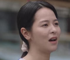 ハム・ユンギョンを演じる女優キム・ジュヨン