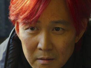 髪を赤く染めたギフン