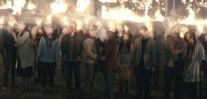 『真夜中のミサ』最終回9話で燃える住民たち