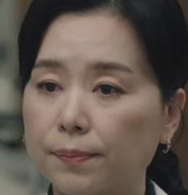 アン・ミンソ役を演じる韓国の女優チャン・ヘジン