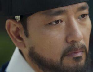 チョン・ソクジョ役を演じるペ・スビン