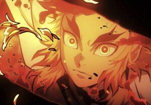 第一話の煉獄杏寿郎